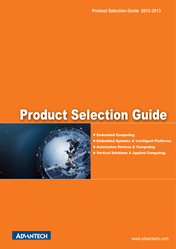 Advantech. Product Selection Guide (IPC) 2012-13