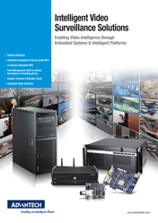 Advantech. Intelligent Video Surveillance Solutions