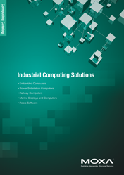 Каталог MOXA Industrial Computing Solutions 2012