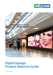 NEXCOM. Digital Signage Product Selection Guide