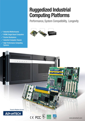 Advantech. Ruggedized Industrial Computing Platforms